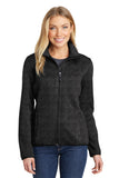 Port Authority® Ladies Sweater Fleece Jacket. L232