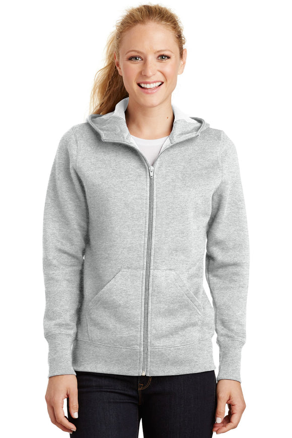 Sport-Tek® Ladies Full-Zip Hooded Fleece Jacket. L265