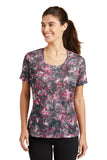 Sport-Tek® Ladies Mineral Freeze Scoop Neck Tee. LST330
