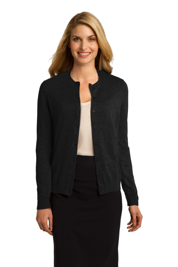 Port Authority® Ladies Cardigan Sweater. LSW287