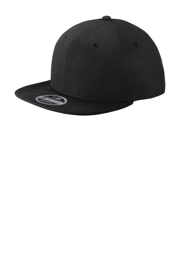 New Era ® Original Fit Diamond Era Flat Bill Snapback Cap. NE404