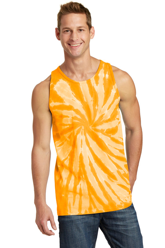 Port & Company® Tie-Dye Tank Top.  PC147TT