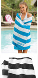 Custom Cabana Stripe Beach Towel Port Authority®. PT43