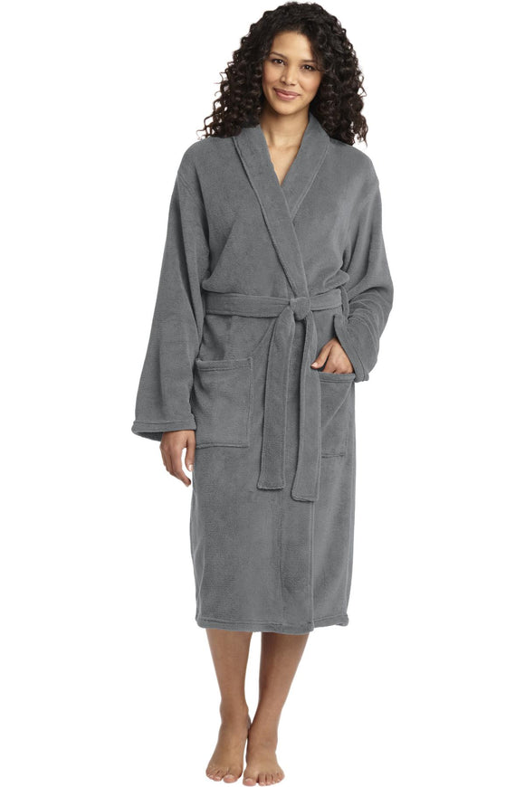 Port Authority® Plush Microfleece Shawl Collar Robe. R102