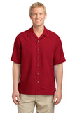 Port Authority® Patterned Easy Care Camp Shirt. S536