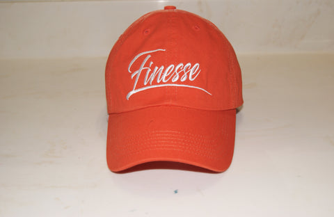 Orange Finesse Hat