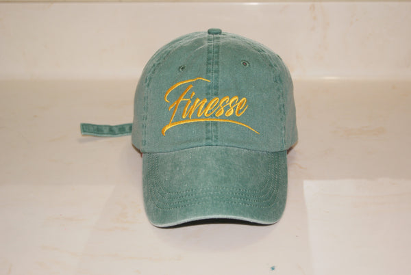 Emerald Finesse Hat