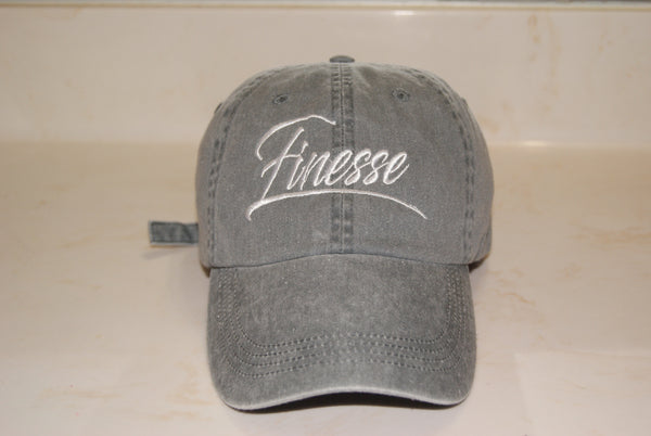 Grey Finesse Hat