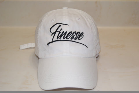 White Finesse Hat