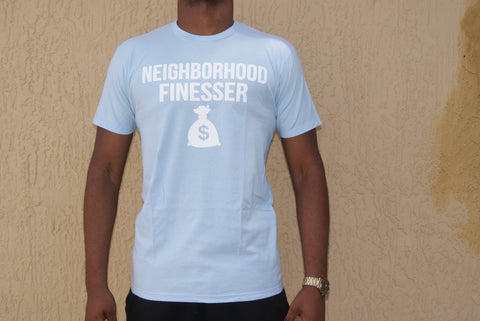 Baby Blue Neighborhood Finesser Tee