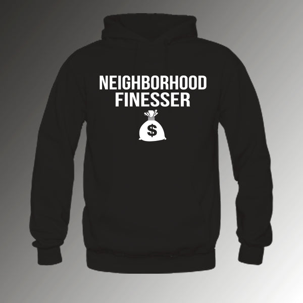Neighborhood Finesser Hoodie Black