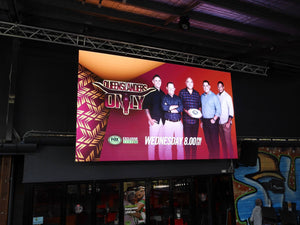 Final Touch Productions install Largest HD Screens in Cairns