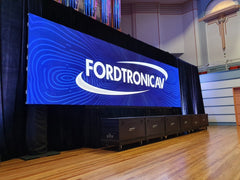 Event Pixels Outdoor Production LED Screen with Fordtronic AV