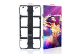 Event Pixels outdoor video display panel with curved clamp