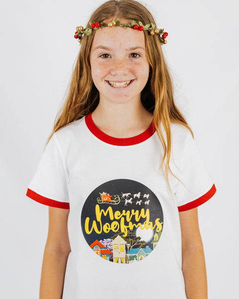 Merry Woofmas Ringer T-Shirt