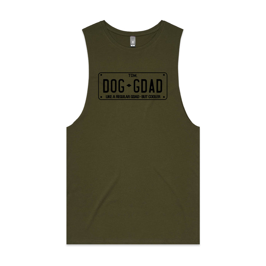 Like a Regular Dog Gdad but Cooler Tank