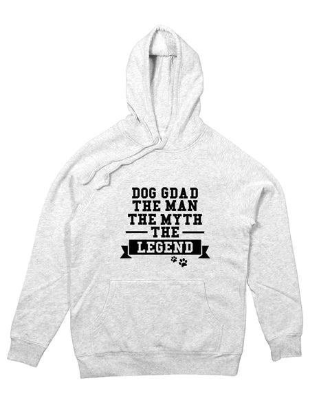 Dog Gdad The Man The Myth Hoodie