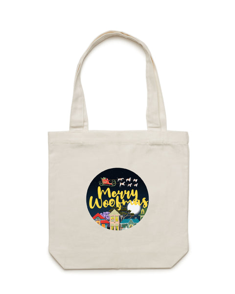 Merry Woofmas Luxe Tote Bag