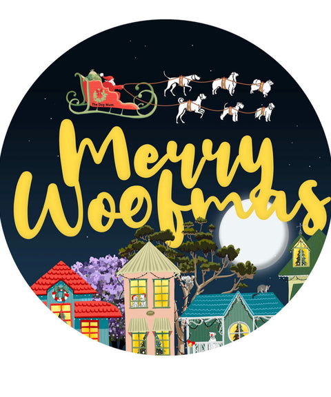 Merry Woofmas Crop T-Shirt