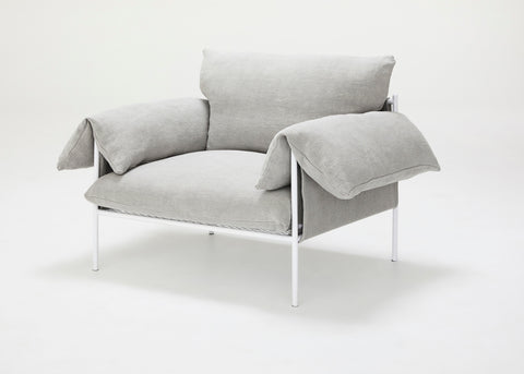 Alva Lounge Chair Linen - Oyster