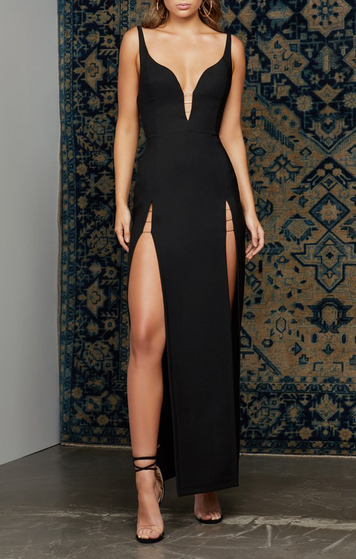 Zia Gown - Black