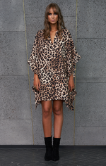 Crave Dress - Leopard
