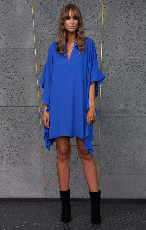 Crave Dress - Cobalt