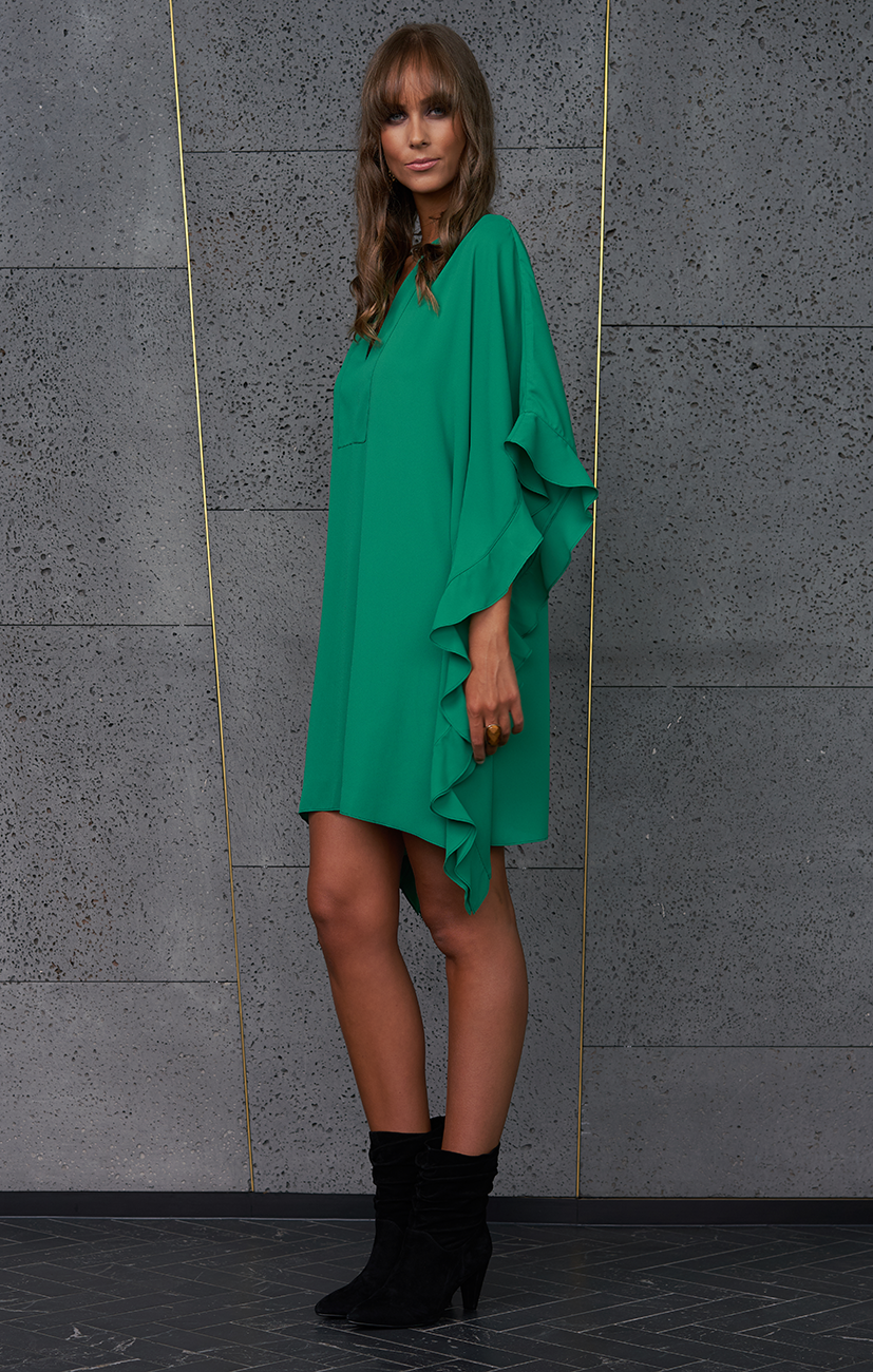PRE ORDER | Crave Dress - Emerald