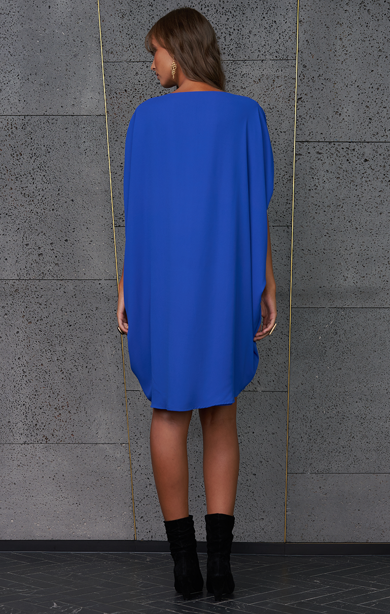 Covet Dress - Cobalt
