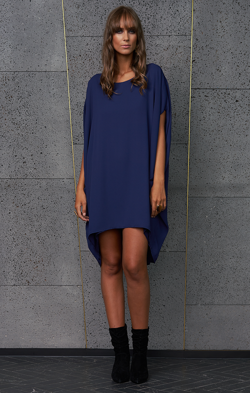 Covet Dress - Navy