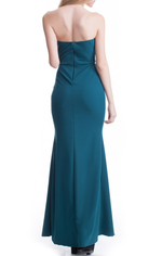 Aida Gown - Dark Teal