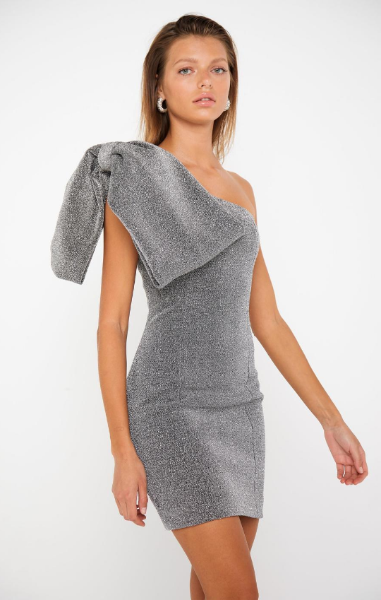 The Silver Lining Mini Dress