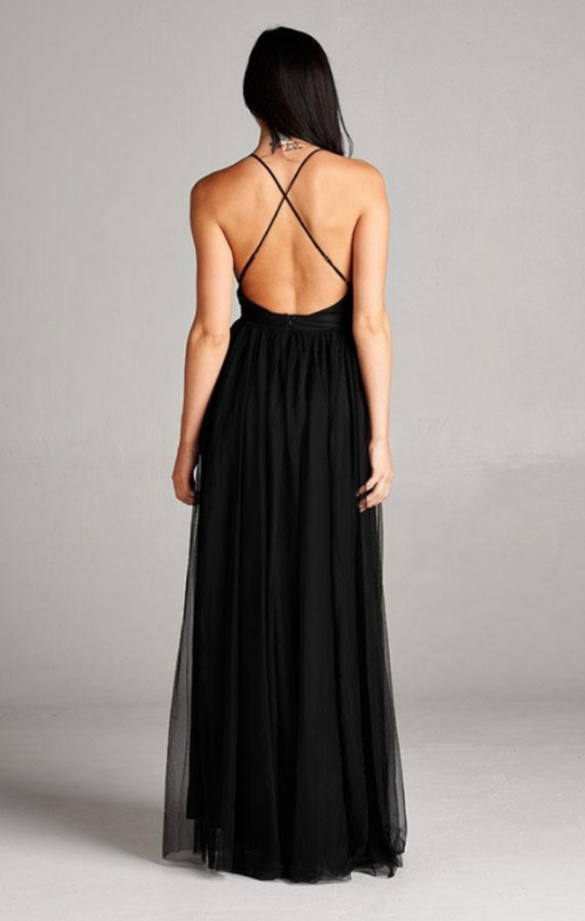 Tallulah Gown - Black