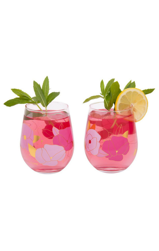 Stemless Cocktail Glasses
