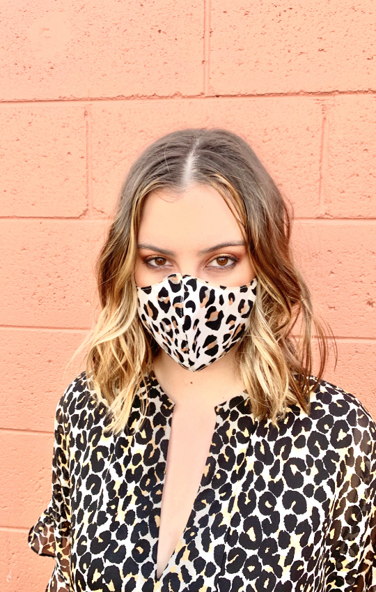 Glamour Face Mask - Animal Print