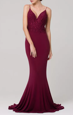 Liana Gown - Berry