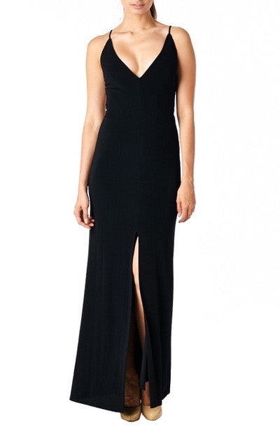 Macey Gown - Black