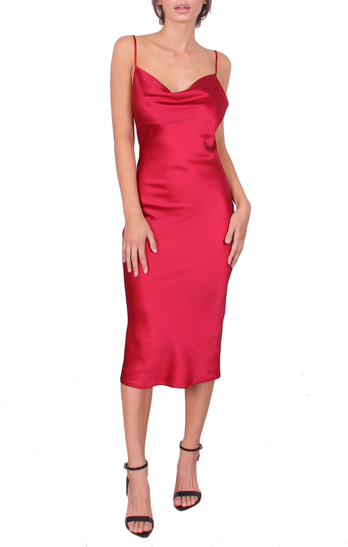 Saffron Dress - Red