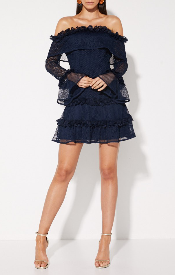 The Mood Swing Dress - Navy