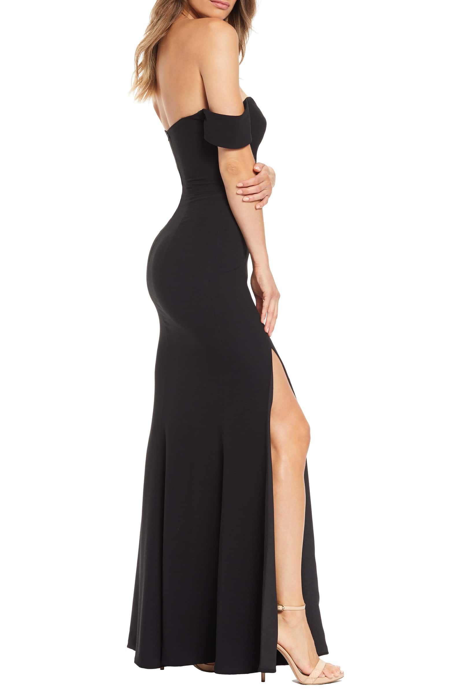 Logan Gown - Black