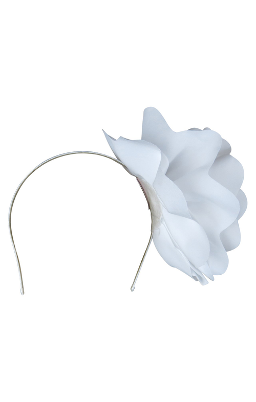 Amy Fascinator - White