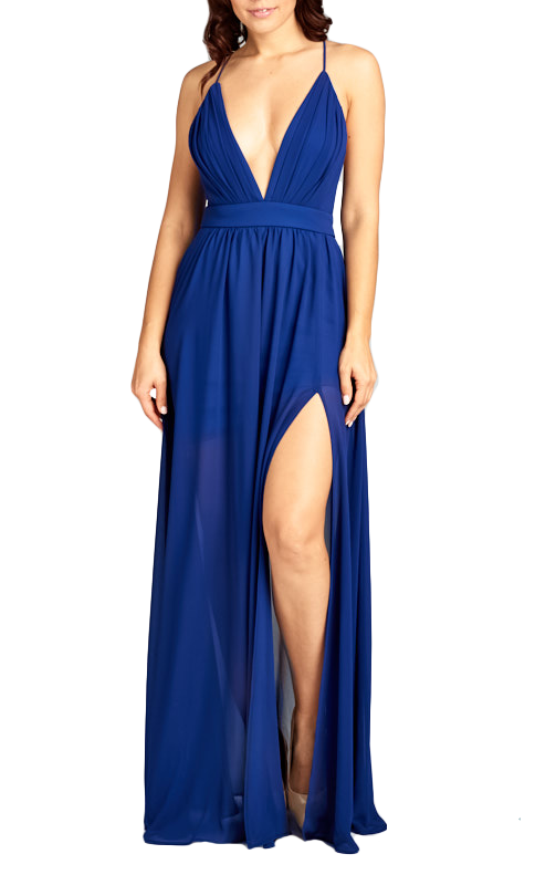 Tamsen Gown - Blue Depth