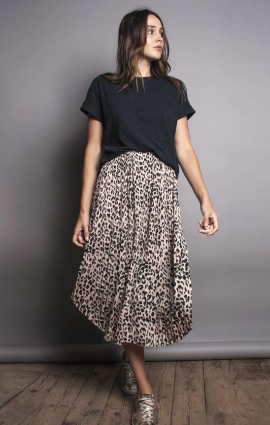 PRE ORDER | Pleated Elastic Waist Skirt