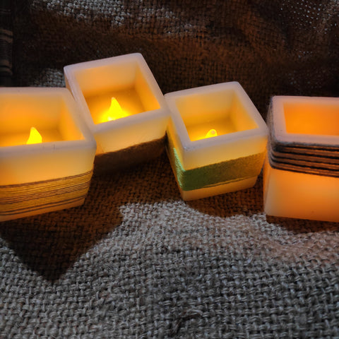led candle decor