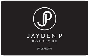 GIFT CARDS - Jayden P Boutique