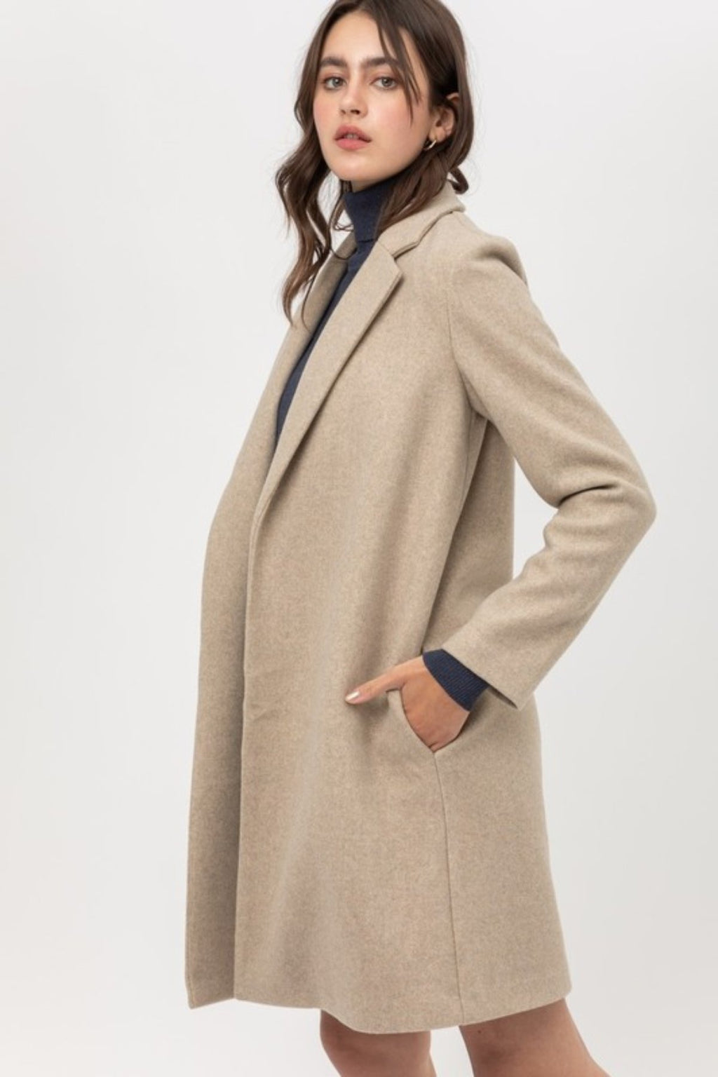 RISKY BUSINESS LONG LINE COAT