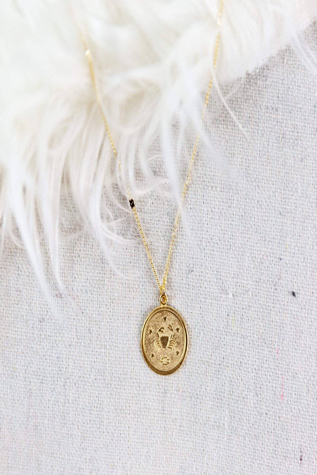 Amano Studio Zodiac Medallion Necklace - [jayden_p]