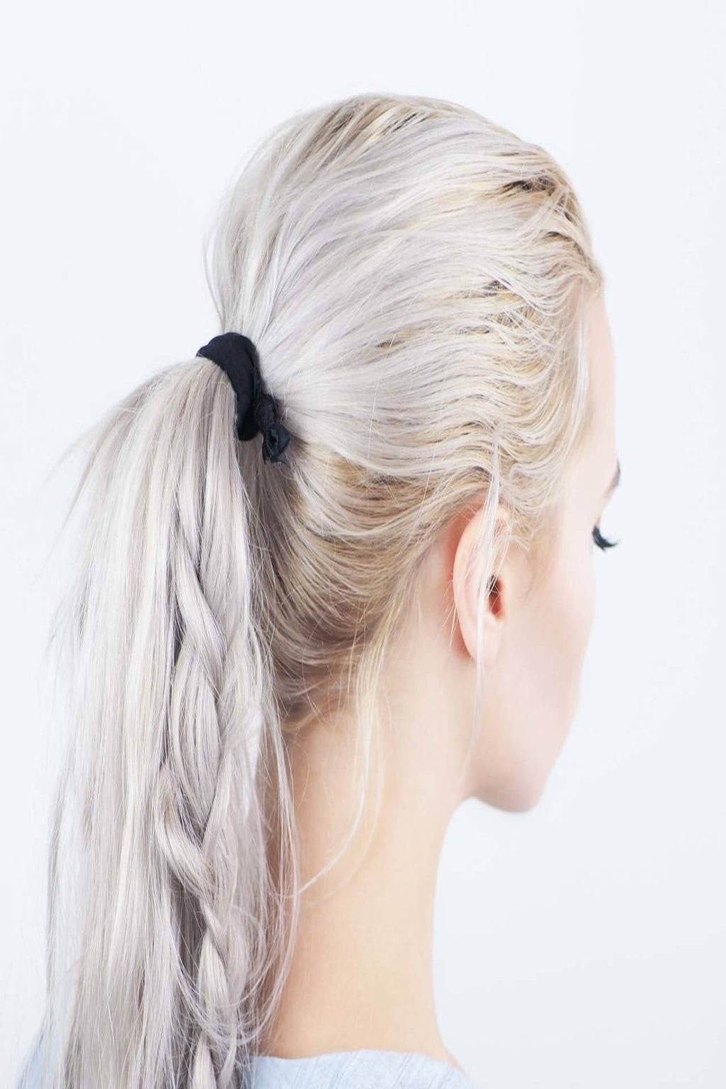 BLACKOUT KNOTTED ELASTIC HAIR TIE SET