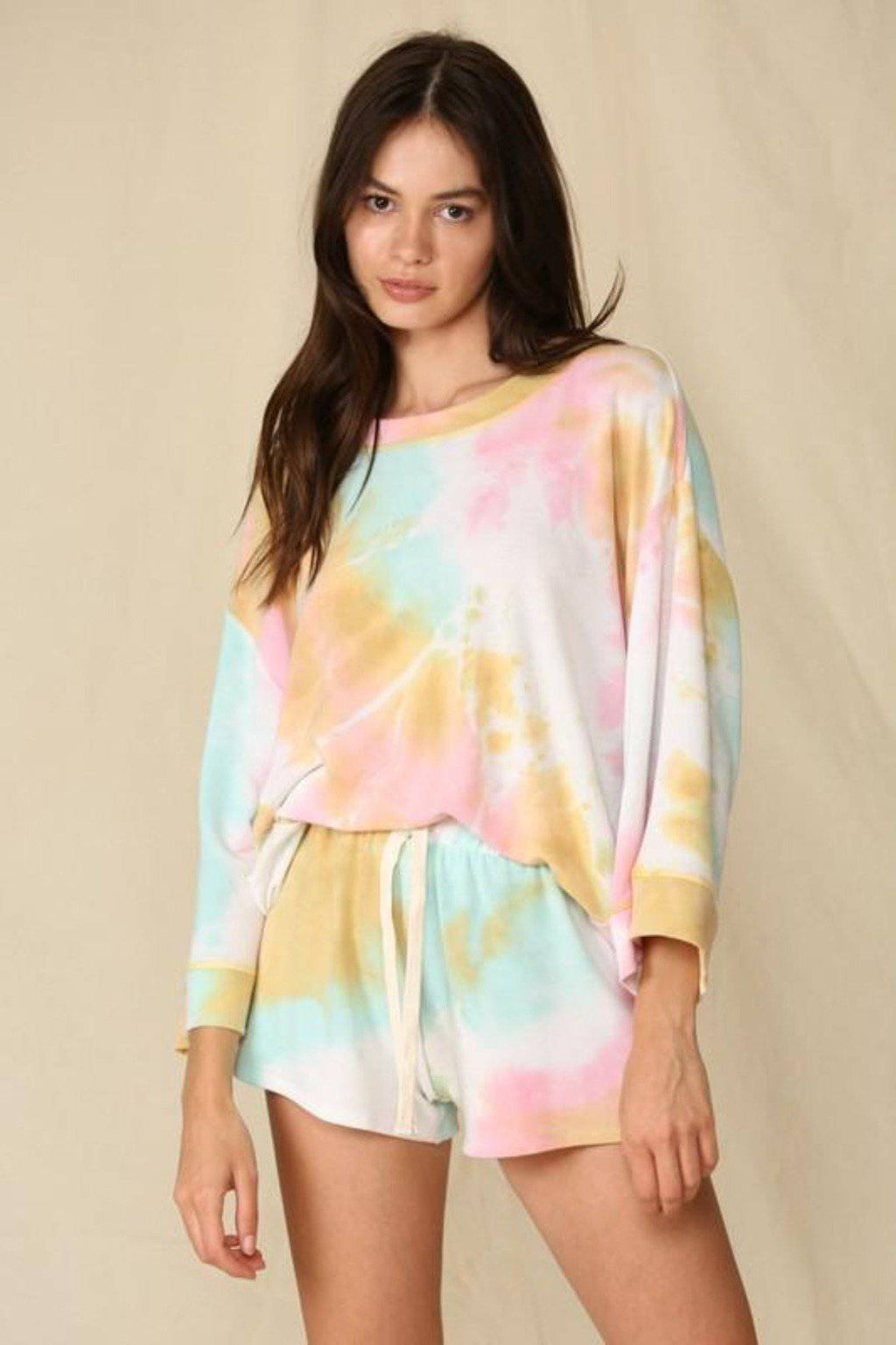 SUMMER CRUSH TIE DYE PULLOVER TOP - [jayden_p]