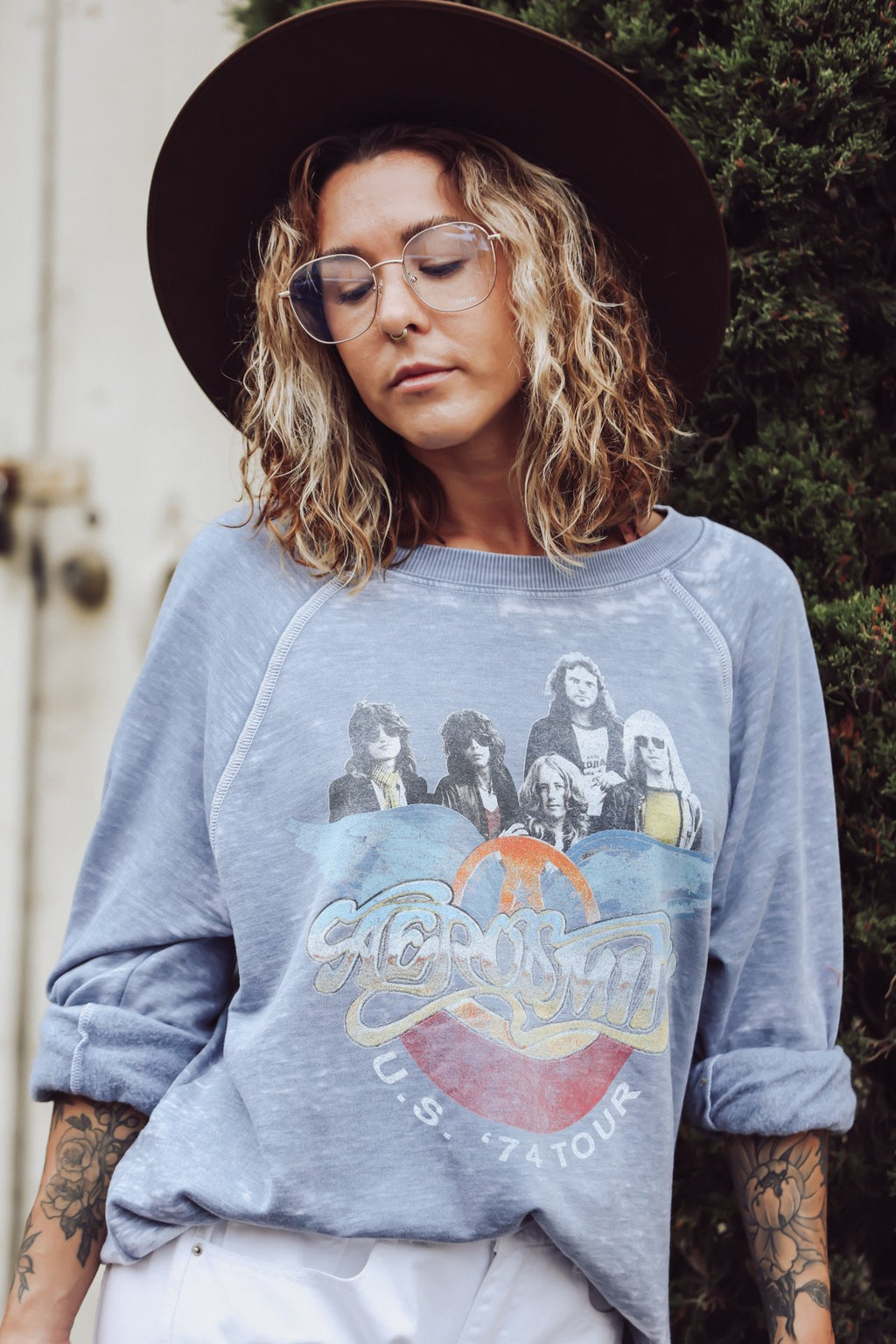 AEROSMITH US 1974 TOUR SWEATSHIRT - [jayden_p]